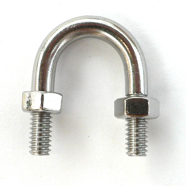 U bolt standard thread stainless steel